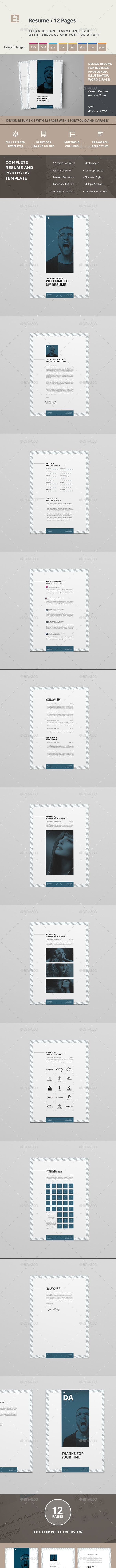 Simple Resume - Resumes Stationery