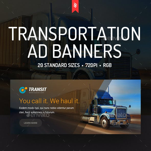 Transit - Transportation Ad Banners
