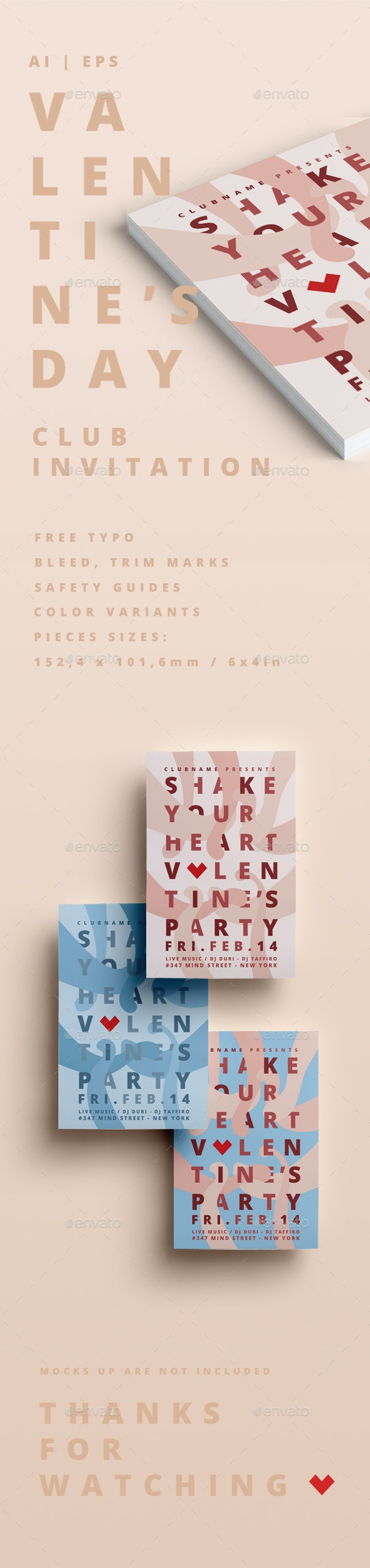 Valentine's Party - Clubs & Parties Events