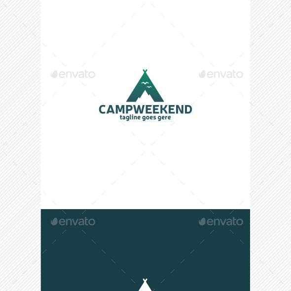 Camp Weekend Logo