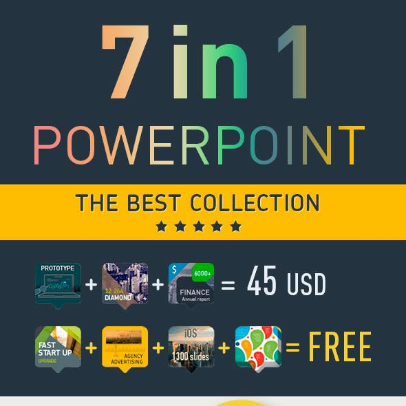 ECommerce and Excel PowerPoint Templates from GraphicRiver