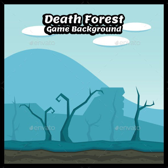 Death Forest Game Background