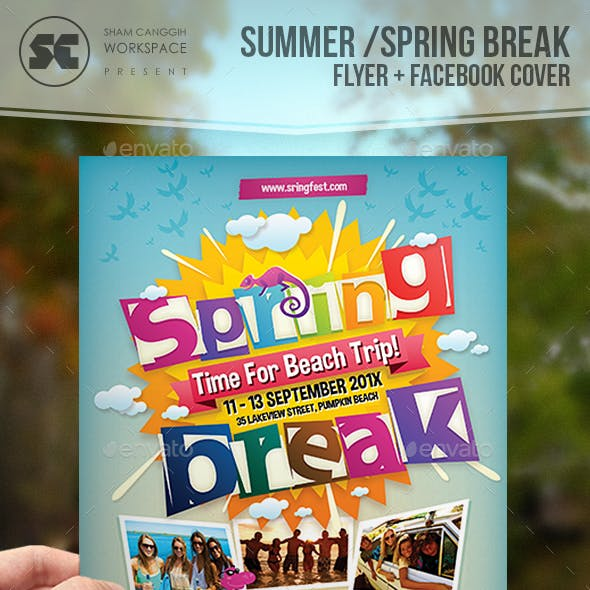 Summer / Spring Break Flyer
