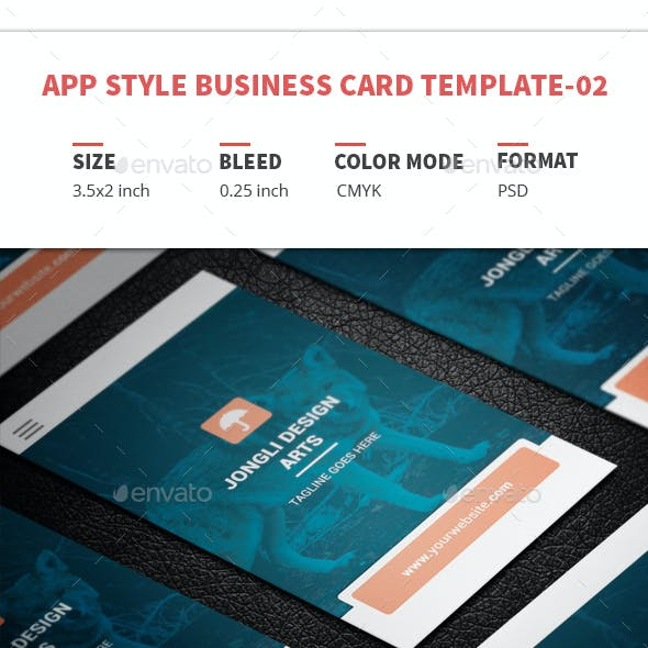 App Style Business Card Template-02