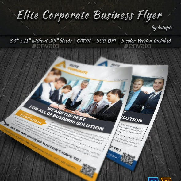 Elite Corporate Business Flyer