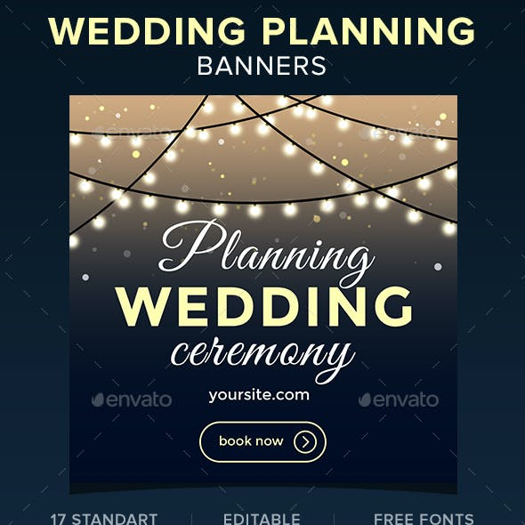 Wedding Planning Banners