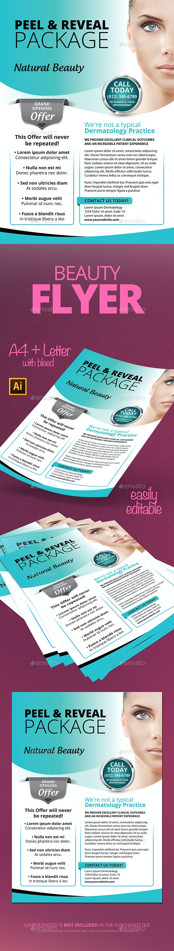 Cosmetic Flyer - Commerce Flyers