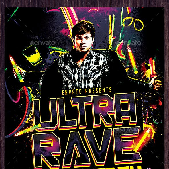 Ultra Rave UV Party