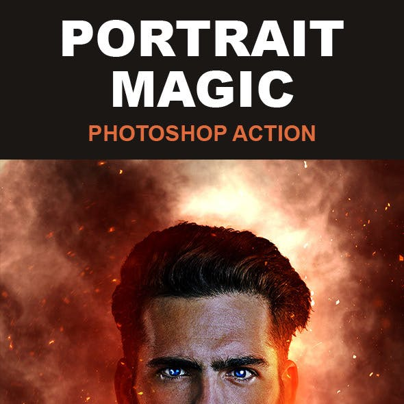 Portrait Magic Photoshop Action