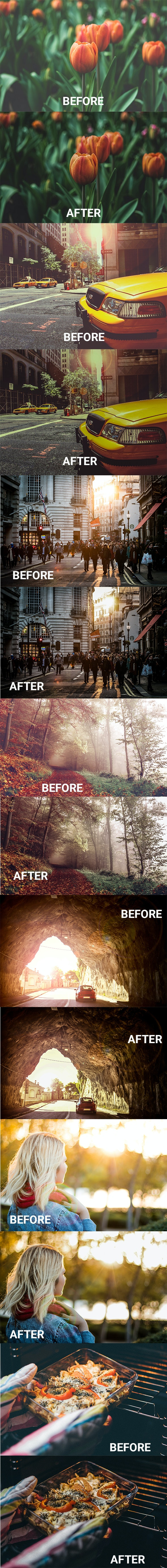 Noise Cleaner - The most popular & the best easy way to reduce noise from your hazy photos. - Photo Effects Actions