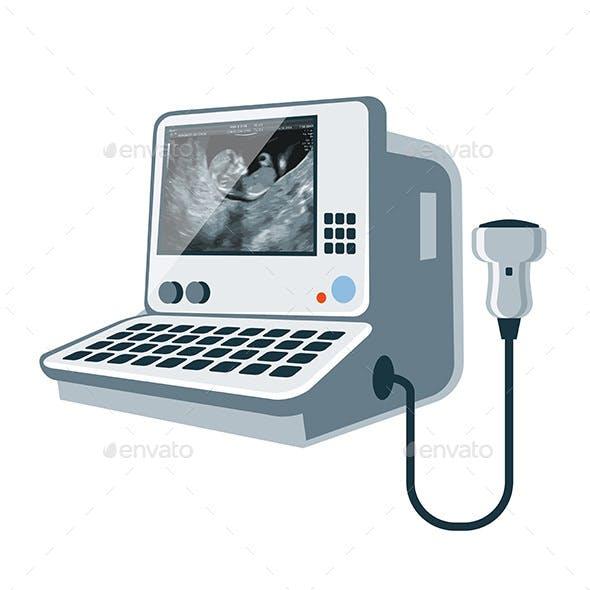 Medical Ultrasonic Diagnostic Machine