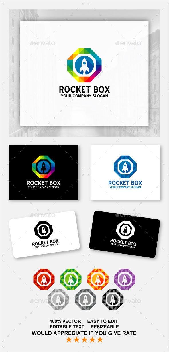 Rocket Box - Abstract Logo Templates