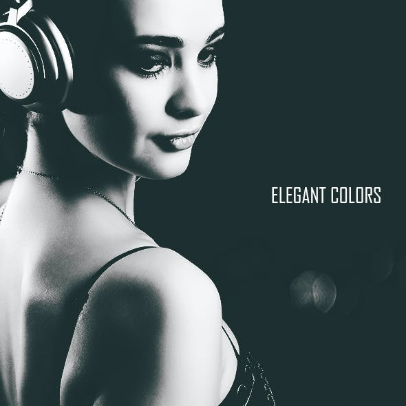 4 Elegant Faded Colors Action