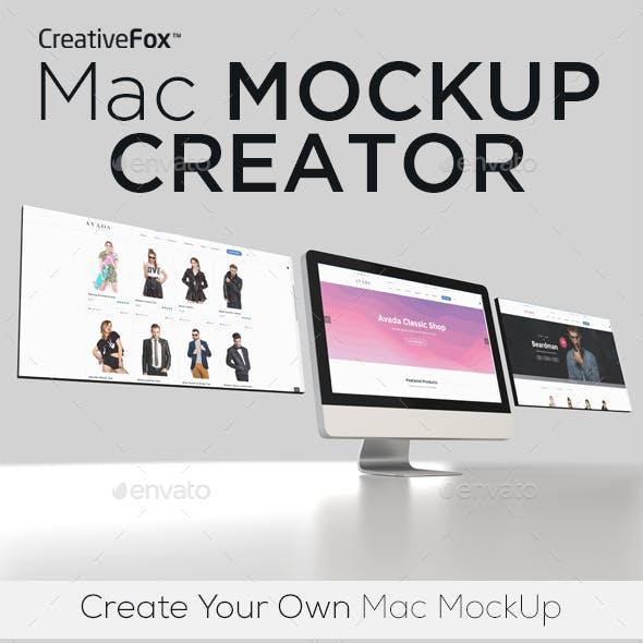 Mac Mockup Creator