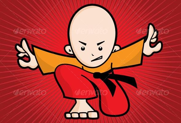 Ninja Boy - People Characters