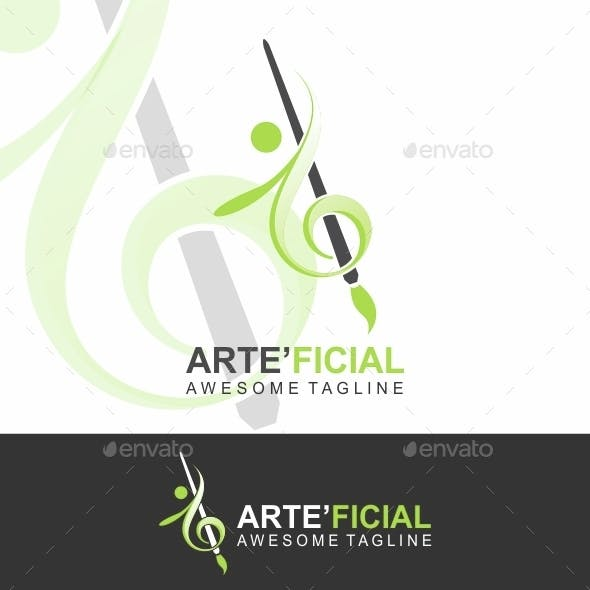 Art Logo (Paint Dance Music)