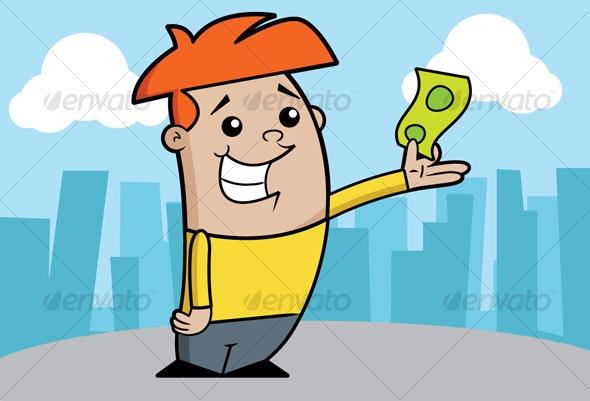 Kid Money - Characters Vectors