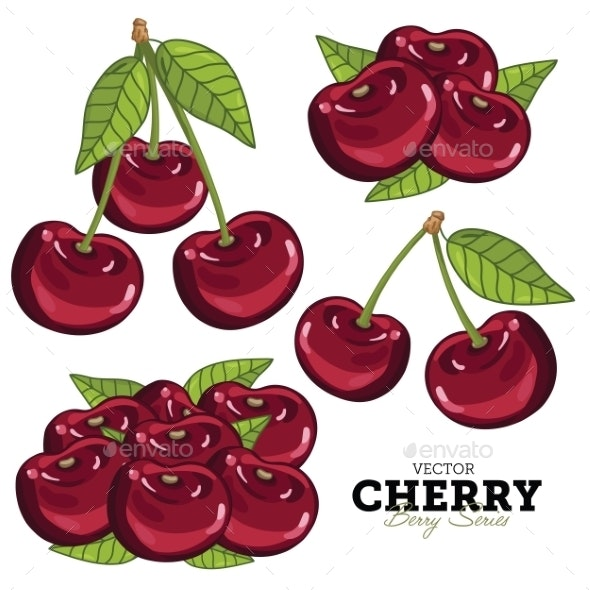 Cherry Set - Food Objects