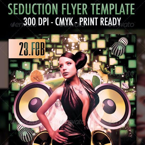 Seduction Flyer Template