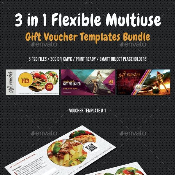 3 in 1 Flexible Multiuse Gift Voucher Bundle 02