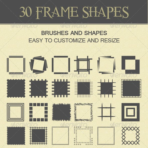 30 Frame Shapes