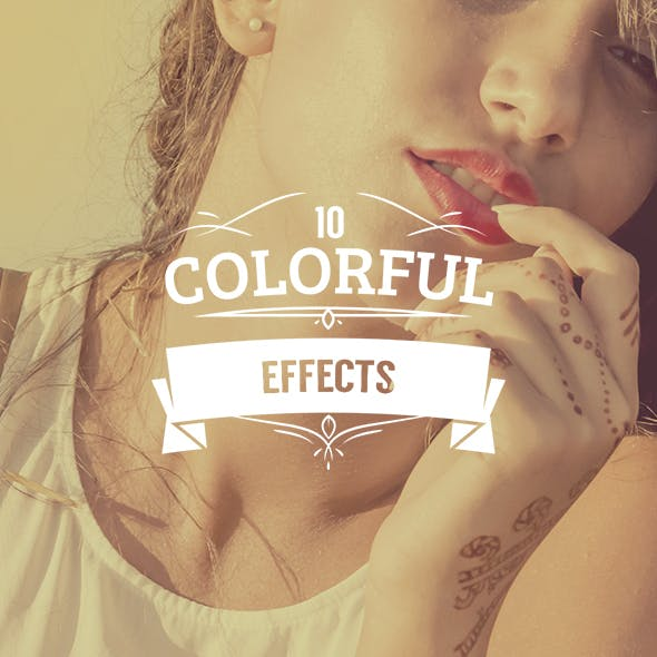 10 Colorful Actions