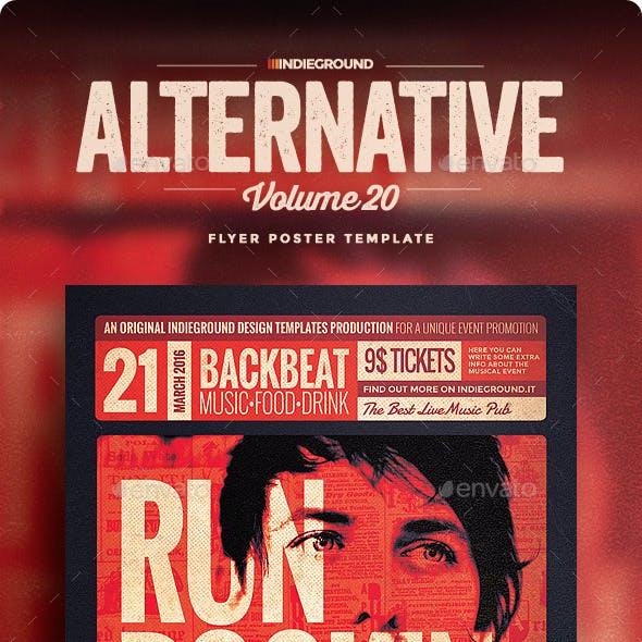 Alternative Flyer/Poster Vol. 20