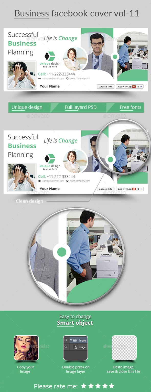 Business Facebook Cover Vol- 11 - Facebook Timeline Covers Social Media