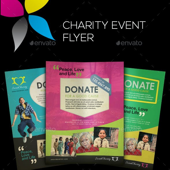 Charity Event Flyers
