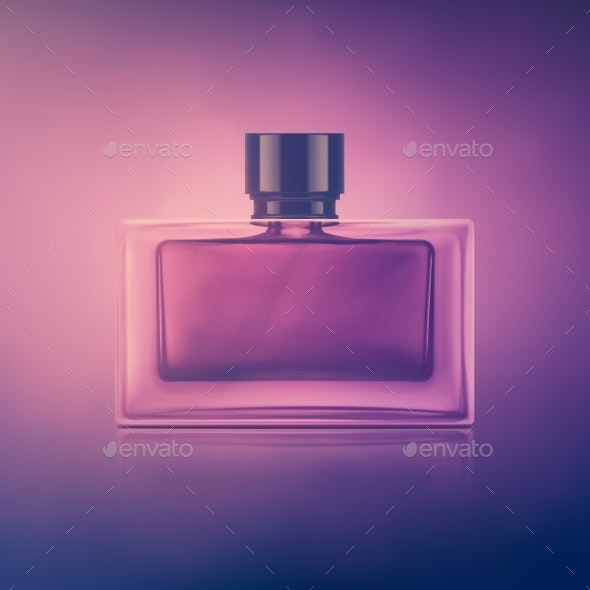Perfume Boottle - Man-made Objects Objects