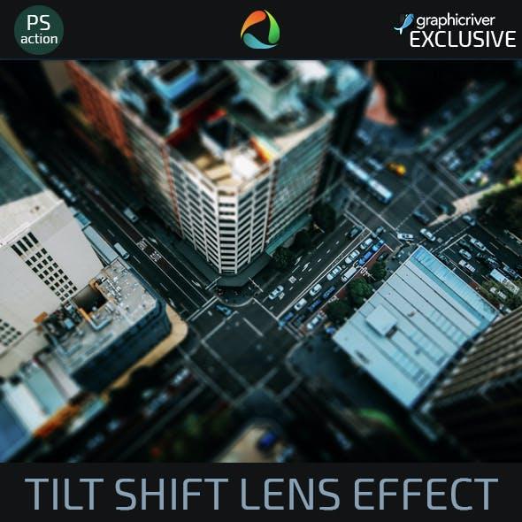 Tilt Shift Lens Effect Action