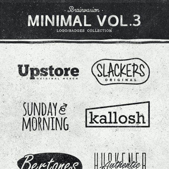 Minimal Logo/Badge Collection Vol.3