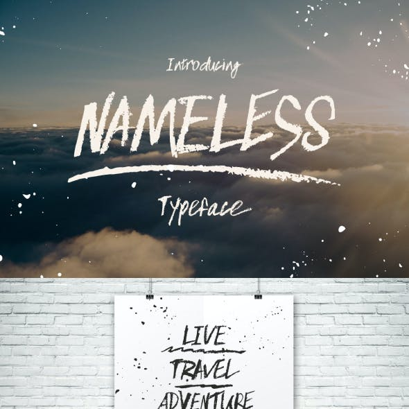 Nameless typeface