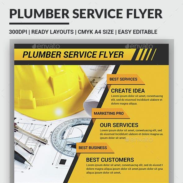 Plumber Service Flyers