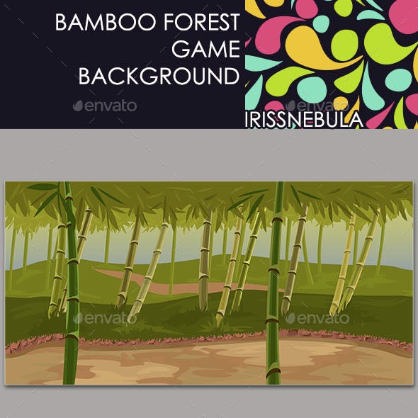 Bamboo Forest Game Background