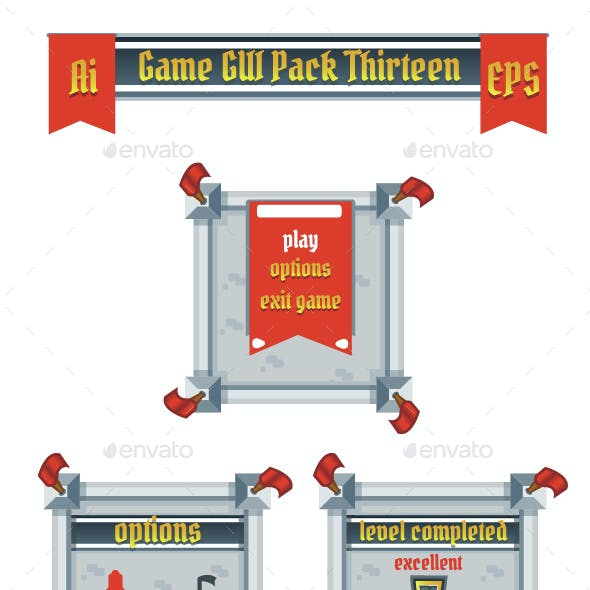 Game GUI Pack Thirteen