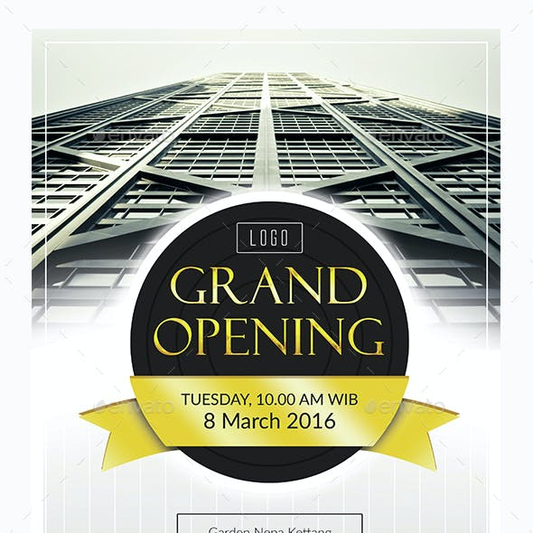 Grand Opening Professional