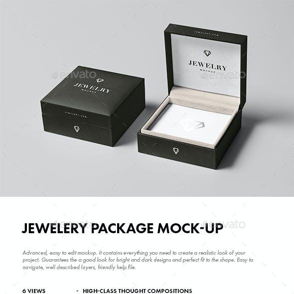 Jewelery Package Mock-up