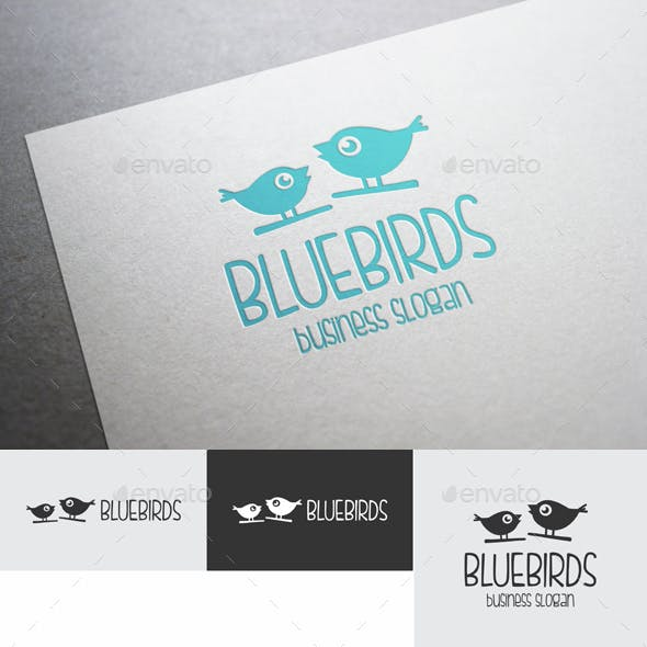 Blue Birds Logo