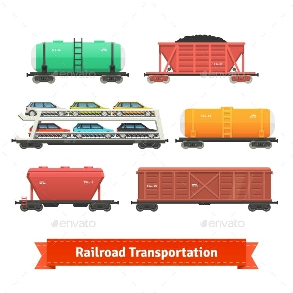 Railroad Transportation Set