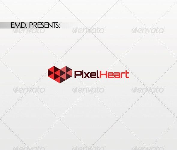 Pixel Heart Logo
