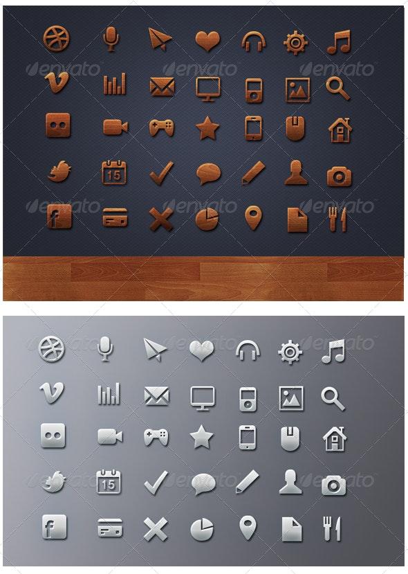 Mega Web Icons Pack - Web Icons