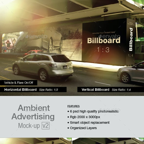 Ambient Advertising Mock-up v2