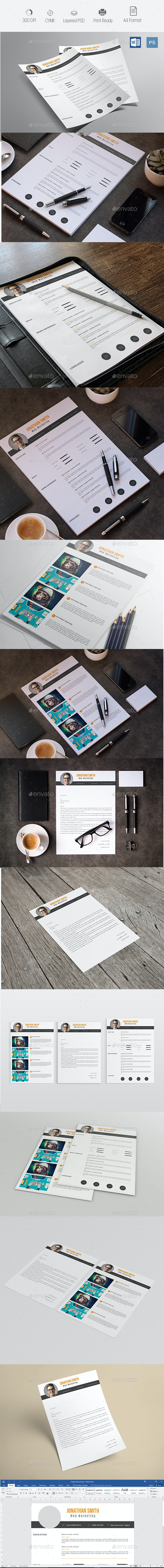 Creative Resume & Cover Letter  - Resumes Stationery