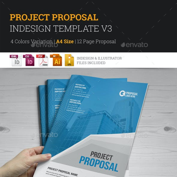 Project Proposal InDesign Template v3
