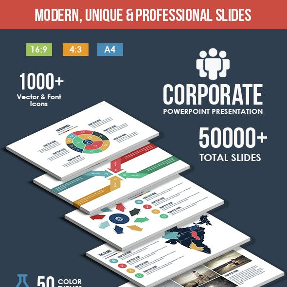 Corporate - Multipurpose PowerPoint Template
