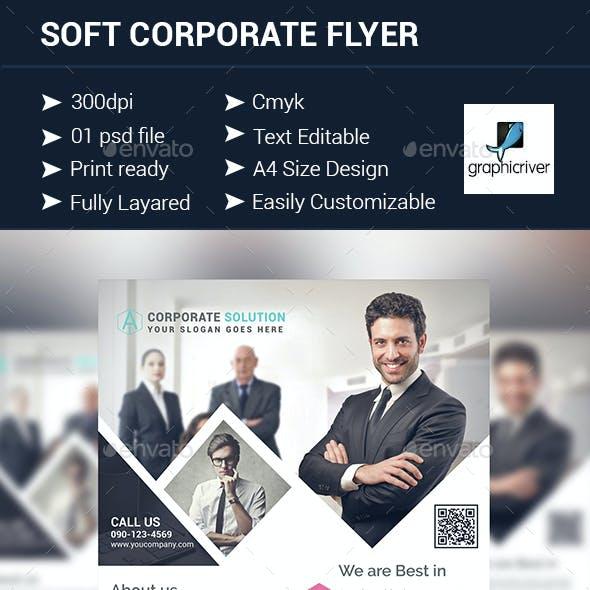 Soft Corporate Flyer Design