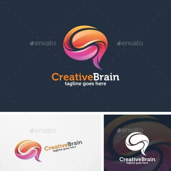 Creative Brain - Logo Template