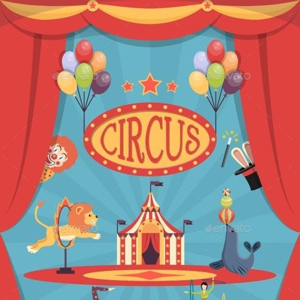 Circus Show Poster