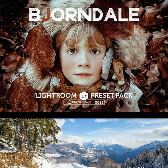 Bjorndale Lightroom Preset Pack